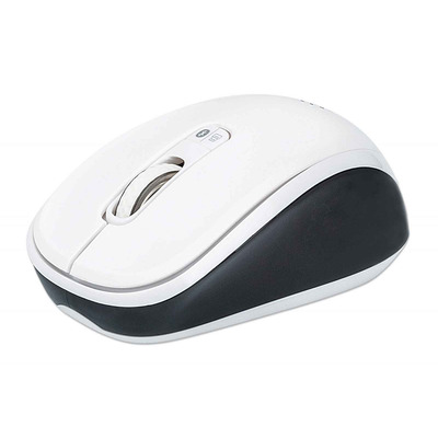 Manhattan Dual-Mode Mouse, Bluetooth 4.0, 2.4 GHz Wireless, 800/1200/1600 dpi, Three Buttons With Scroll .....