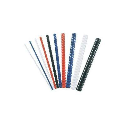 Fellowes Plastic Binding Combs 21 ring, Black, 12mm (100) inbinder - Zwart