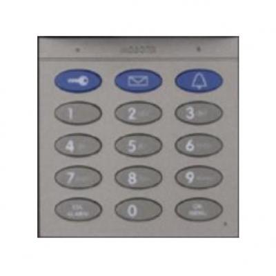 Mobotix Keypad With RFID Technology For T26, Dark Gray Intercom system accessoire - Grijs