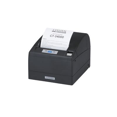 Citizen pos bonprinter: CT-S4000/L - Zwart