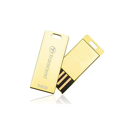 Transcend JetFlash T3 USB flash drive - Goud
