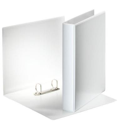 Esselte ringband: Panorama Ring Binders A4, 2 x 30mm (10 stuks) - Wit