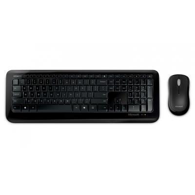 Microsoft toetsenbord: Wireless Desktop 800 for Business - Zwart, Alphanumeric
