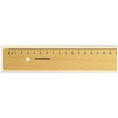 Rumold lineaal: Liniaal 400mm hout
