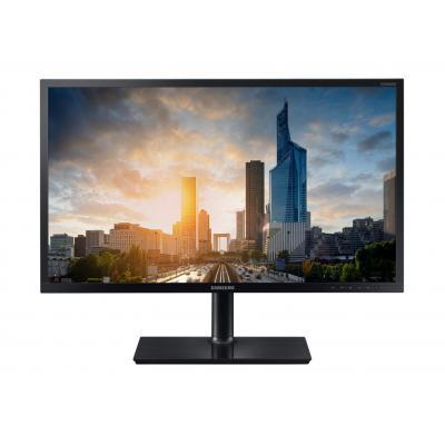 Samsung monitor: S24H650GDU - Zwart