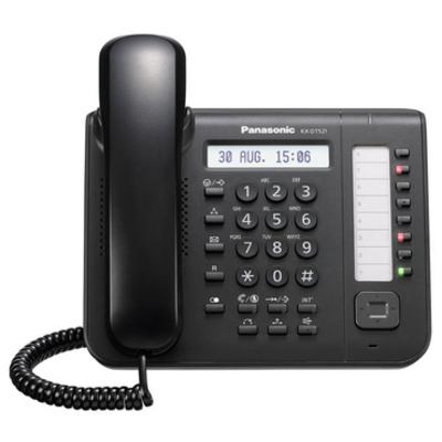 Panasonic KX-DT521 IP telefoon - Zwart
