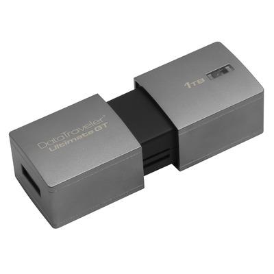 Kingston technology USB flash drive: DataTraveler DataTraveler Ultimate GT 1TB - Zilver