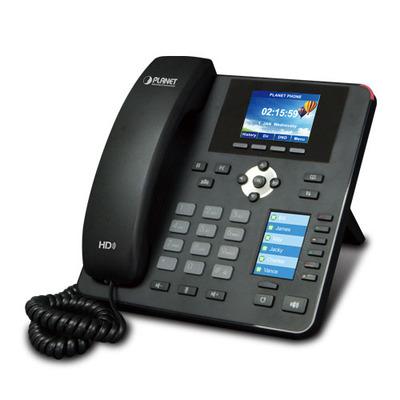 PLANET High Definition Color PoE IP Phone with Dual Display, 4 SIP Lines, SIP 2.0, 3-way conferencing IP telefoon .....