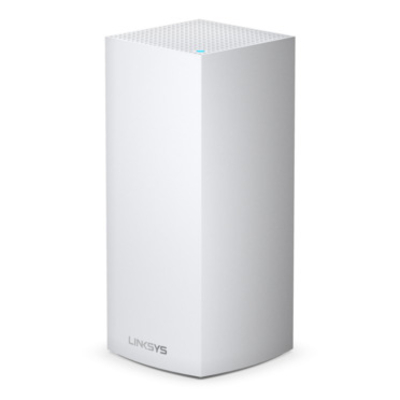 Linksys Velop Multiroom Intelligent Mesh WiFi 6-systeem (AX, tri-band, 1-pack) Wireless router - Zwart,Wit