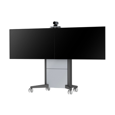 NEC PD02MVC TV standaard - Aluminium, Antraciet, Grijs