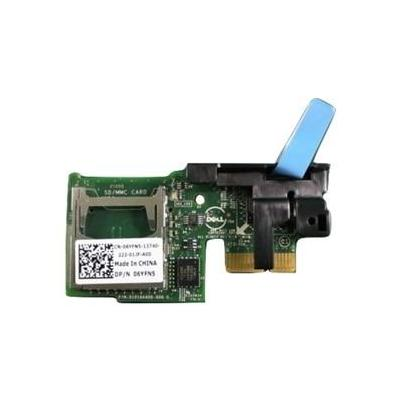 Dell geheugenkaartlezer: Internal Dual SD Module (SD Cards to beordered separately) - Kit - Zwart, Groen