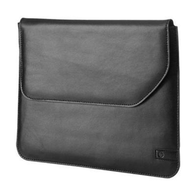Hp tablet case: Tablet Leather Sleeve - Zwart