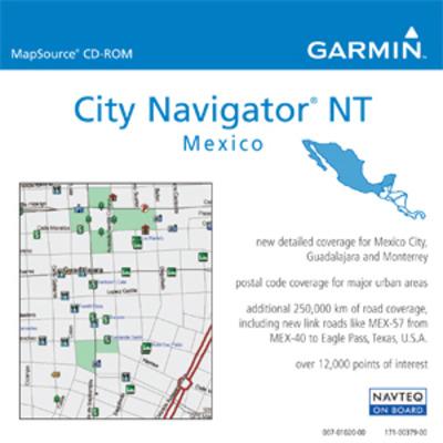 Garmin : City Navigator® Mexico NT