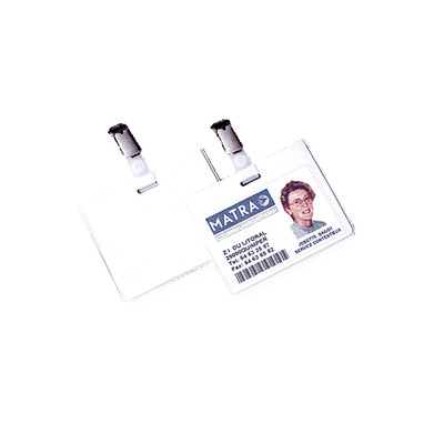 Fellowes badge: Veiligheidsbadge, 50 pak