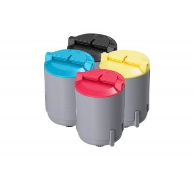 Samsung cartridge: CLP-P300C - C/M/Y/K Toner Kit - Zwart, Cyaan, Magenta, Geel