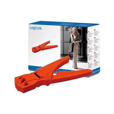 LogiLink Crimping tool Tang - Oranje