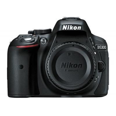 Nikon digitale camera: D5300 - Zwart