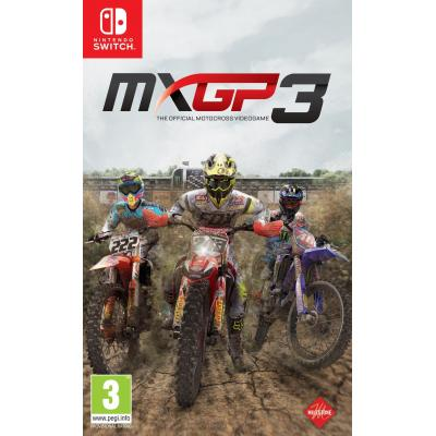 Milestone srl game: MXGP 3: The Official Motocross Videogame  Nintendo Switch