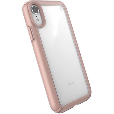Speck Presidio Show, Apple, iPhone XR, Rose Gold, Clear Mobile phone case - Goud, Roze