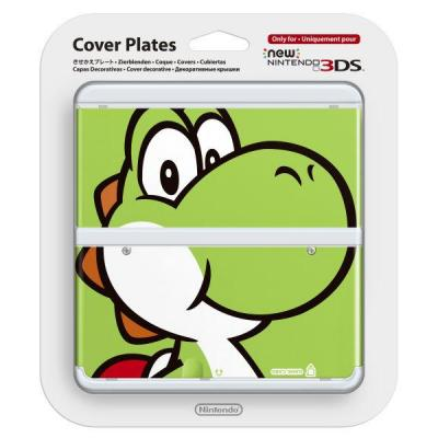 Nintendo portable game console case: New 3DS Cover Plate 003 - Multi kleuren