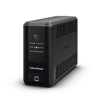 CyberPower 400 VA, 250 W, 84 x 280 x 174 mm, 3.8 kg UPS - Zwart