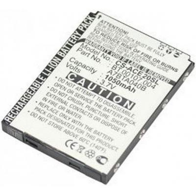 Acer mobile phone spare part: BATTERY.LI-POL.1C.1140mAh  - Zwart