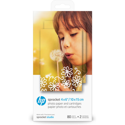 HP Sprocket Studio fotopapier - Wit