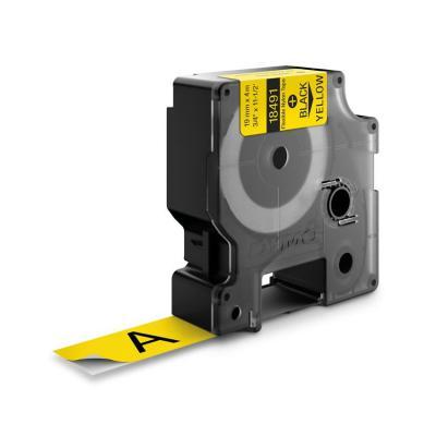 Dymo labelprinter tape: 19mm Flexible Nylon Tape