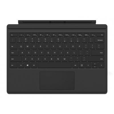 Microsoft mobile device keyboard: Type Cover - Zwart