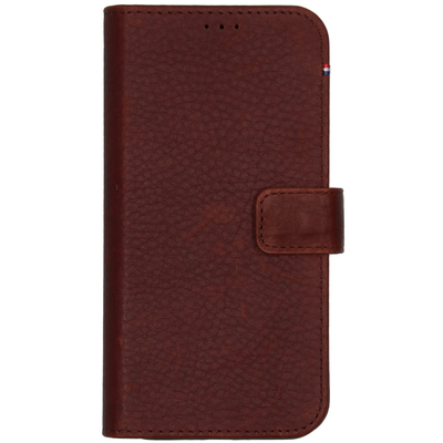 Decoded 2 in 1 Leather Detachable Wallet iPhone 12 (Pro) - Bruin - Bruin / Brown Mobile phone case
