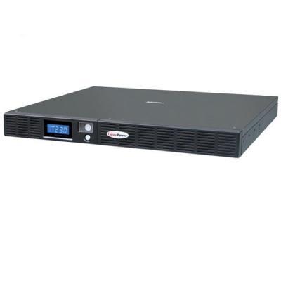CyberPower OR1500ELCDRM1U, 1500VA/ 900W, 160Vac - 265Vac, 1U UPS - Zwart