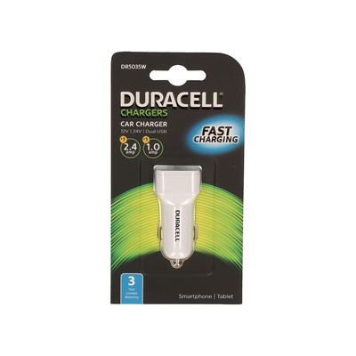Duracell DR5035W Oplader - Wit
