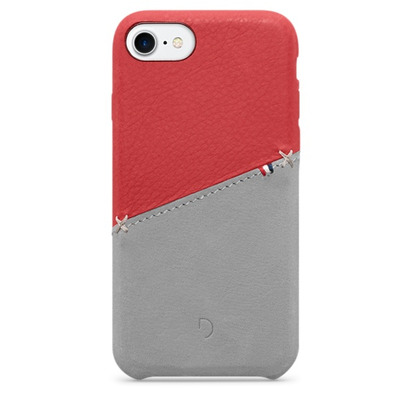 Decoded Leather Snap-On Case for iPhone 7, Red Mobile phone case - Rood