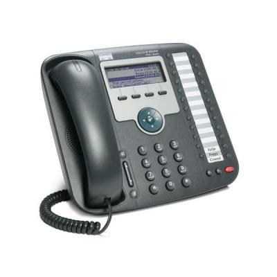 Cisco IP telefoon: 7931G - Zwart