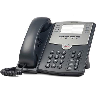 Cisco IP telefoon: SPA501G - Zwart, Grijs