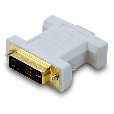 Equip DVI-A to HD15 VGA Adapter Kabel adapter - Beige