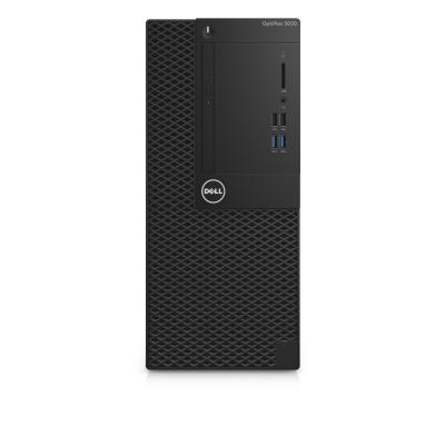 Dell pc: OptiPlex 3050 - Core i5 - 4GB RAM - 500GB - Zwart