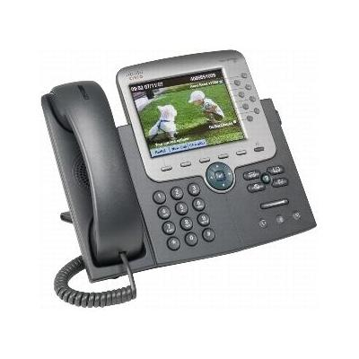 Cisco dect telefoon: Unified IP Phone 7975G - Grijs
