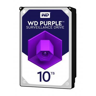 Western Digital Purple 10TB 7200RPM Surveillance Interne harde schijf