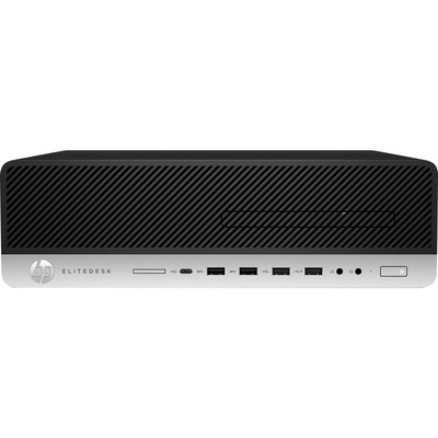 HP EliteDesk 800 G5 SFF i5 8GB RAM 256GB SSD Pc - Zwart, Zilver