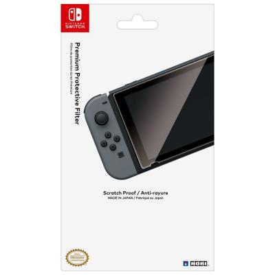 Hori screen protector: Premium Protective Filter for Nintendo Switch - Transparant
