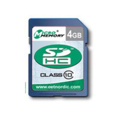CoreParts MMSDHC10/4GB Flashgeheugen