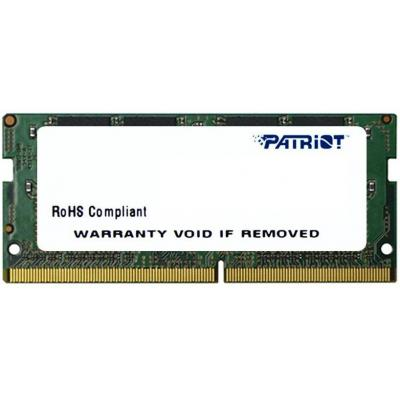Patriot Memory 8GB DDR4 2400MHz RAM-geheugen - Groen