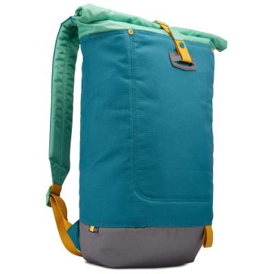 Case logic rugzak: Larimer-rugzak met afrolbare bovenkant - Blauw, Groen, Grijs