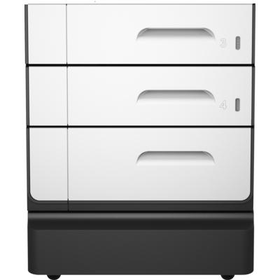 HP PageWide Pro 2x500-sheet papierlade en standaard Printerkast - Zwart