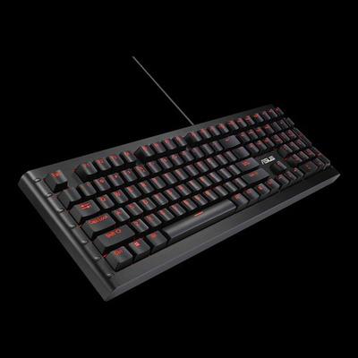 Asus toetsenbord: GK1100 - Zwart, QWERTZ
