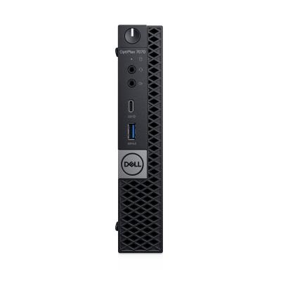 DELL OptiPlex 7070 Micro i5 16GB RAM 256GB SSD Pc - Zwart