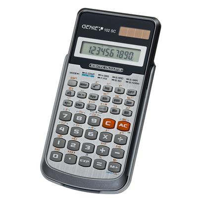 Genie 102 SC Calculator