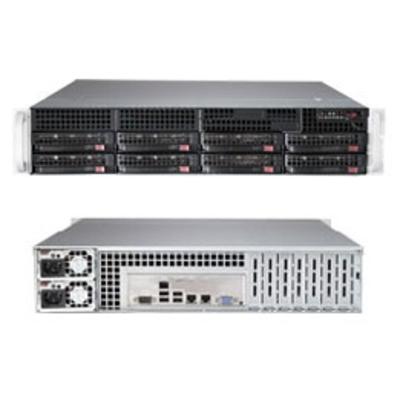 Supermicro SuperServer 6028R-TR Server barebone - Zwart