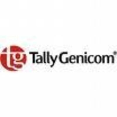 TallyGenicom Black Ribbon Printerlint - Zwart